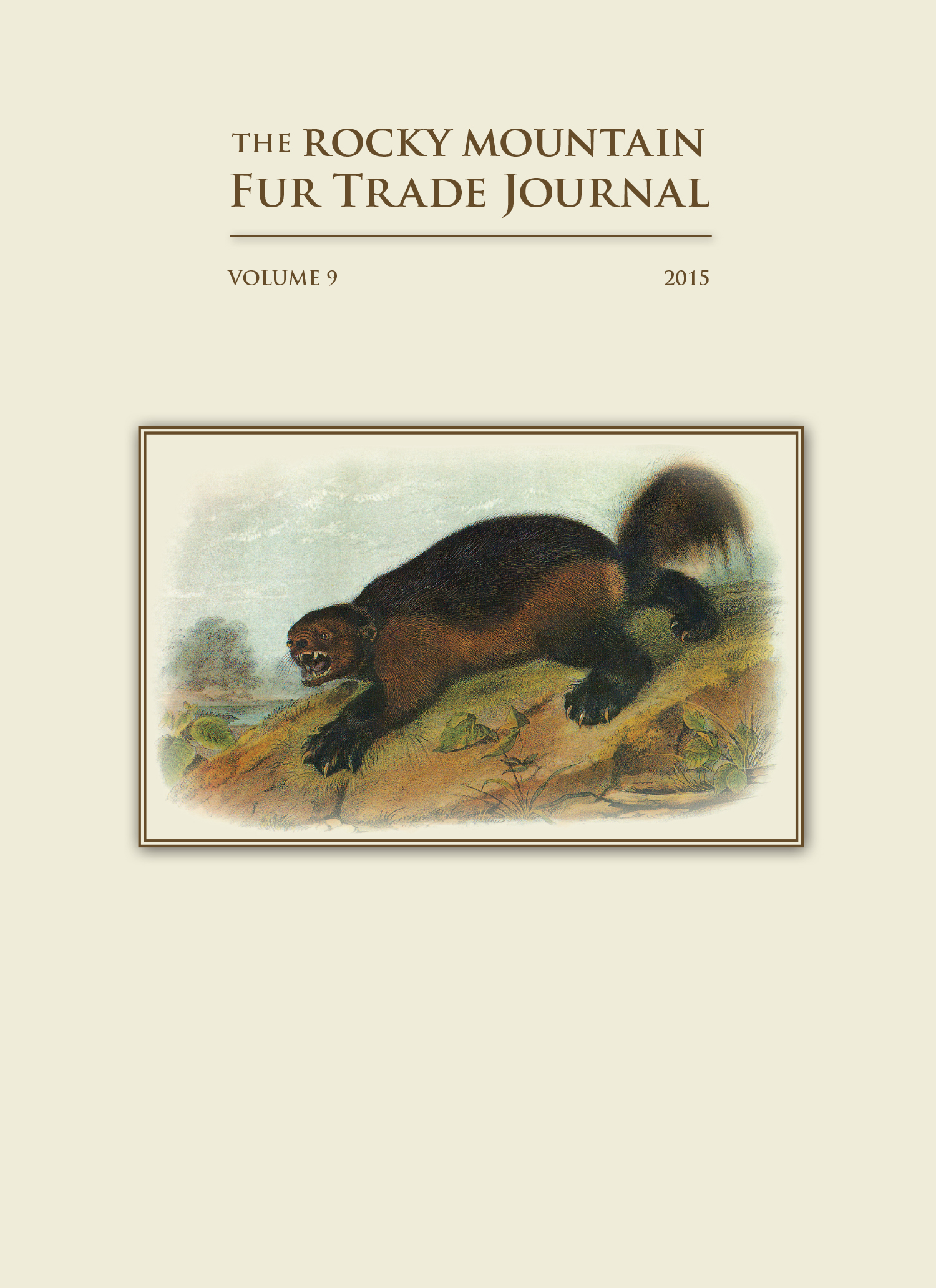2015 Rocky Mountain Fur Trade Journal
